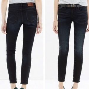 Madewell Jeans - Madewell skinny skinny crop  style b1375.